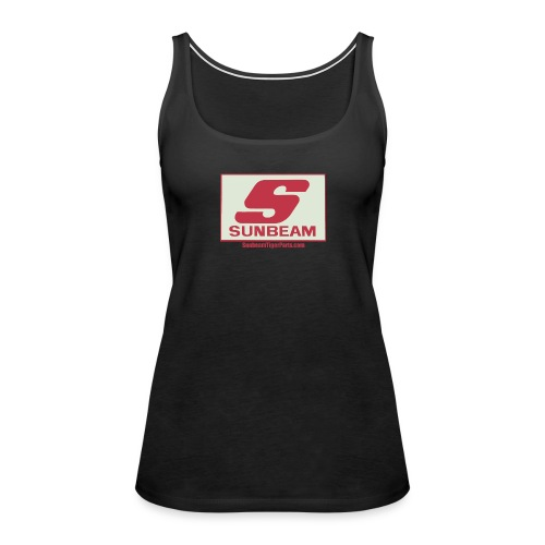 Sunbeam logo shirt with web free png - Women's Premium Tank Top
