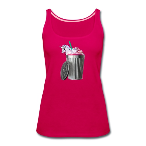 trash brigade unicorn - Women's Premium Tank Top
