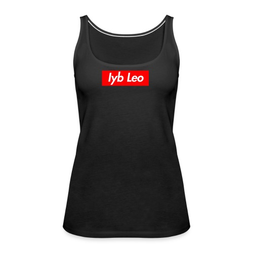 Iyb Leo Box Logo - Women's Premium Tank Top