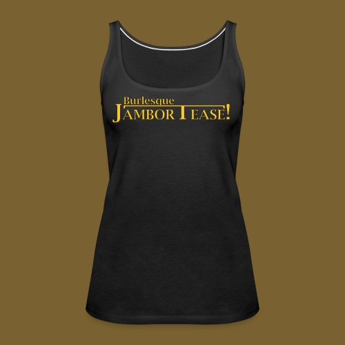 Dr. Shocker's Burlesque JamborTease! - Women's Premium Tank Top