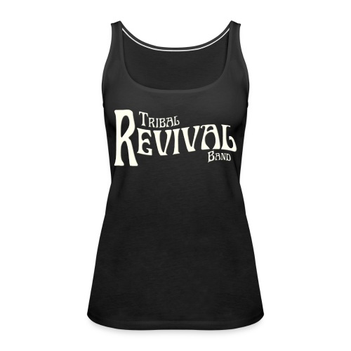 TRB Logo letters only png - Women's Premium Tank Top