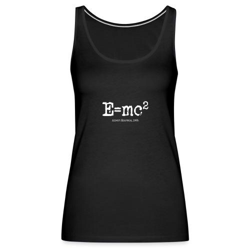 E=mc2 - Women's Premium Tank Top