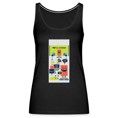 iphone5screenbots - Women's Premium Tank Top