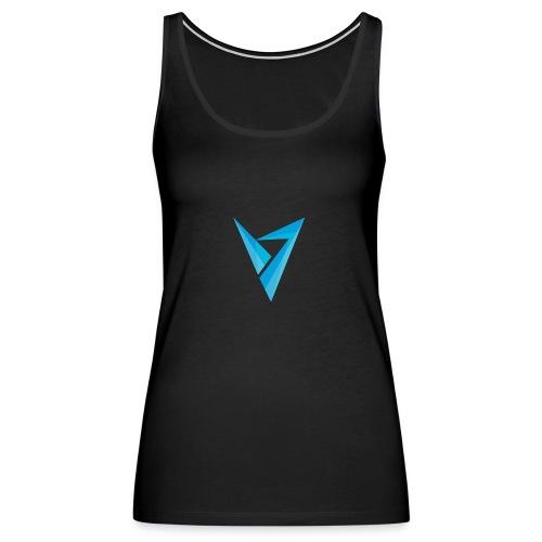 v logo - Women's Premium Tank Top