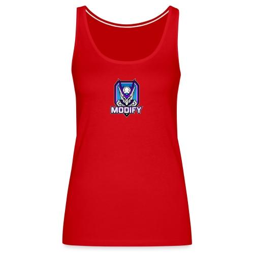 Modify Text Logo - Women's Premium Tank Top