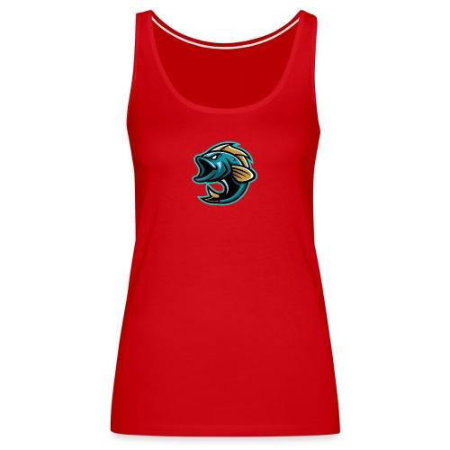 PogFish Logo Only - Women's Premium Tank Top