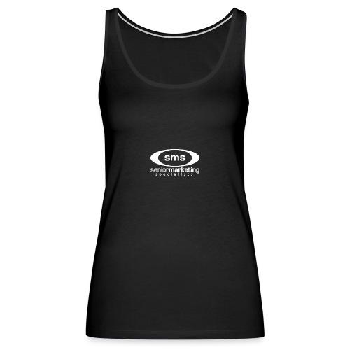 SMS White Logo - Women's Premium Tank Top