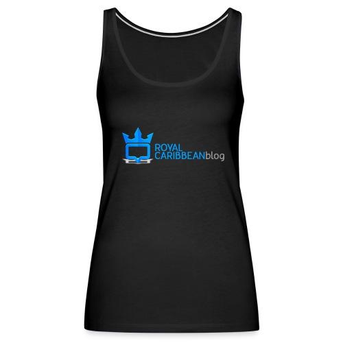 Royal Caribbean Blog Logo - Women's Premium Tank Top