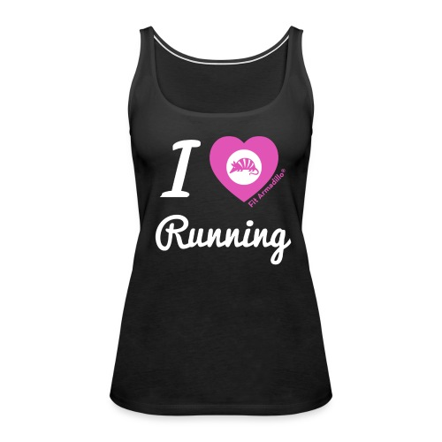 I love running - Women's Premium Tank Top
