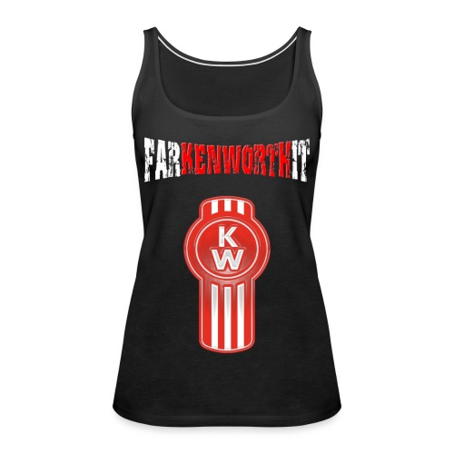 Farkenworthit logo png - Women's Premium Tank Top