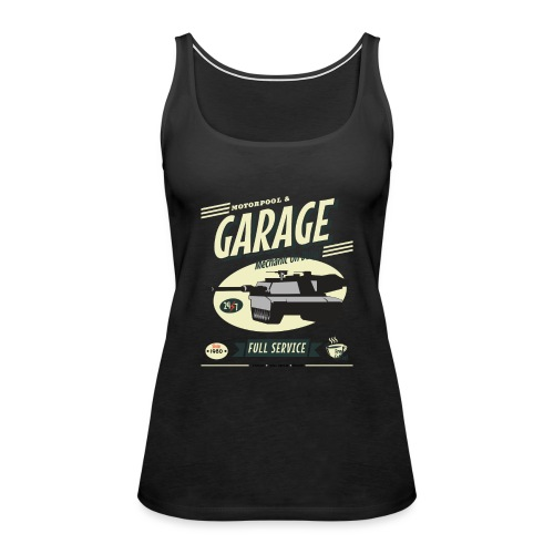 Vintage Tank Mechanic - Women's Premium Tank Top
