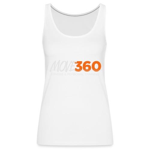 Move360 Logo LightGrey - Women's Premium Tank Top