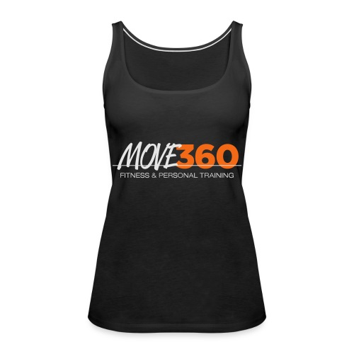 Move360 Logo LightGrey - Women's Premium Tank Top