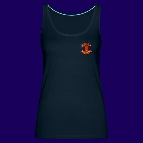 ChaosNConquer Minimalist Logo Print - Women's Premium Tank Top