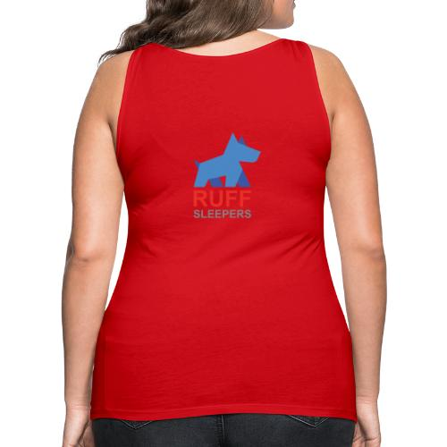 ruffsleepers logo 01 - Women's Premium Tank Top