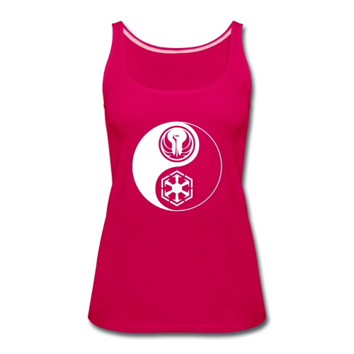 Star Wars SWTOR Yin Yang 1-Color Light - Women's Premium Tank Top