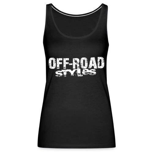 Follow With Caution ATV T-Shirts - Women's Premium Tank Top
