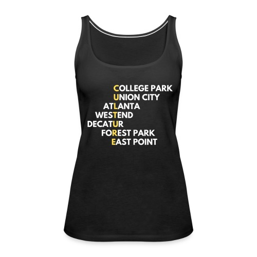Culture Atlanta - Women's Premium Tank Top