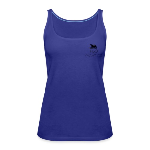 H2O Yacht Co. Black - Women's Premium Tank Top