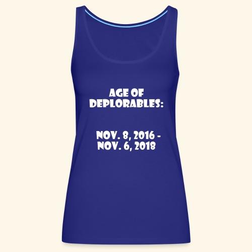 Age of Deplorables - Women's Premium Tank Top