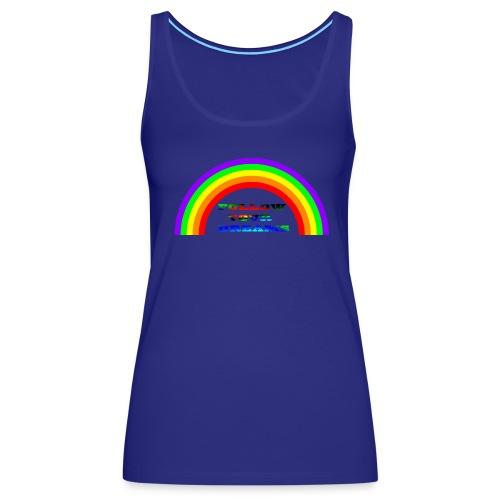Follow Your Dreams Rainbow - Women's Premium Tank Top