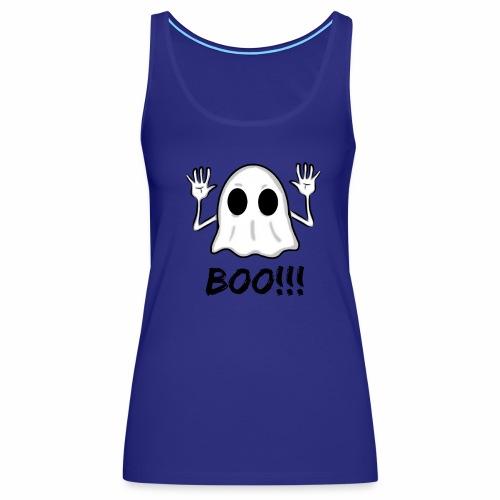 BOO!!! Halloween Design - Women's Premium Tank Top