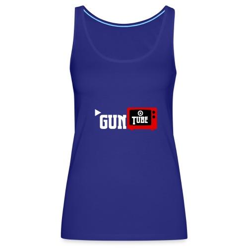GunTube White - Women's Premium Tank Top
