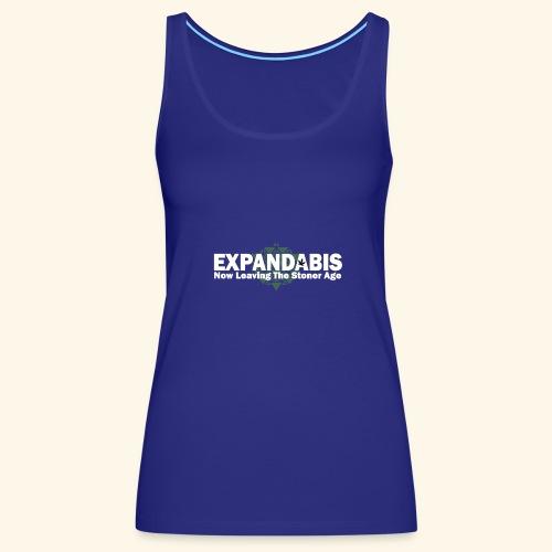 Expandabis White Logo - Women's Premium Tank Top