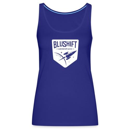 BluShift Logo - Women's Premium Tank Top