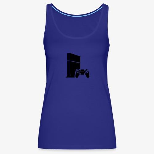 Logo PS4 - Women's Premium Tank Top