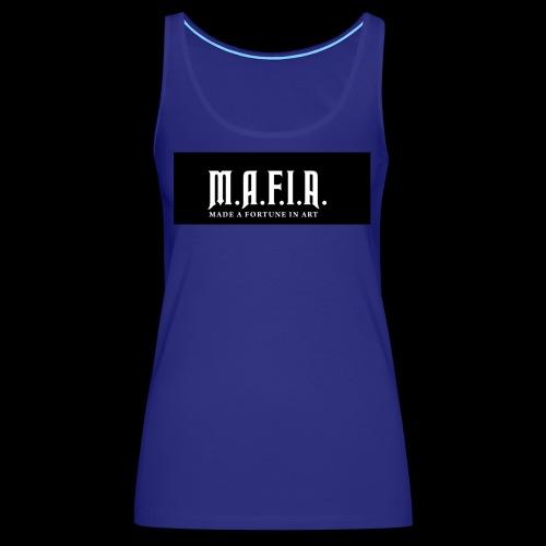 Classic Mafia Logo Black - Women's Premium Tank Top