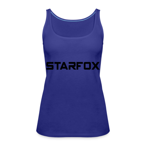 STARFOX Text - Women's Premium Tank Top