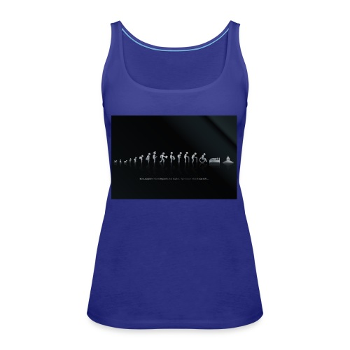 DIFFERENT STAGES OF HUMAN - Women's Premium Tank Top