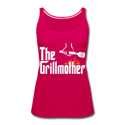 The Grillmother - Women's Premium Tank Top