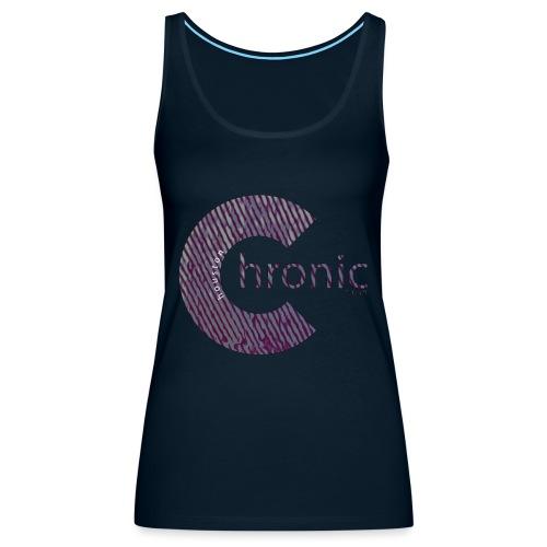 Houston Chronic - Classic C - Women's Premium Tank Top