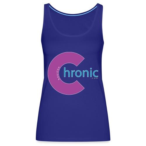 Houston Chronic - Purp C - Women's Premium Tank Top