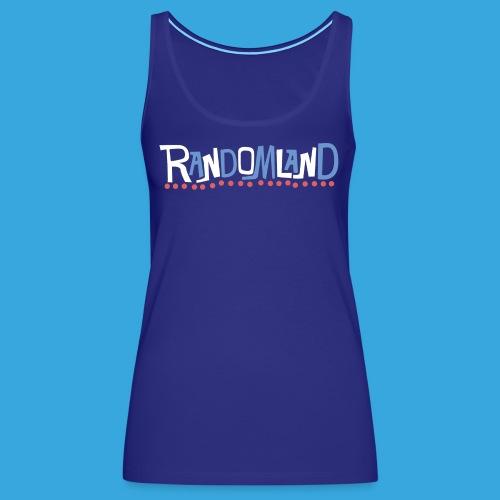 Randomland Groovy - Women's Premium Tank Top