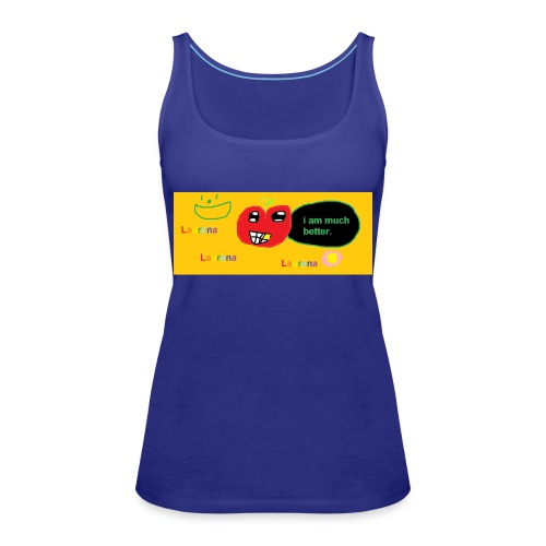 pechy vs apple - Women's Premium Tank Top