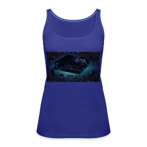 ps4 back grownd - Women's Premium Tank Top