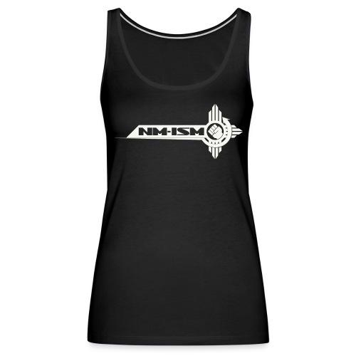 White NM-ISM Logo - Women's Premium Tank Top