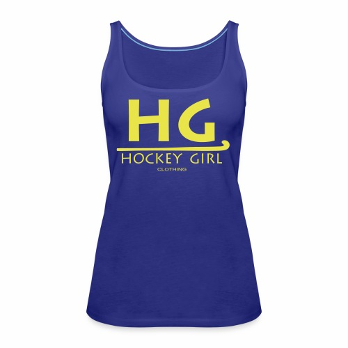HG logo 3 THIS ONE FINAL - Women's Premium Tank Top