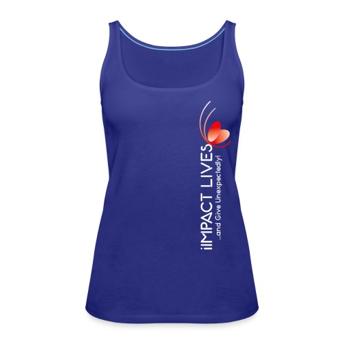 iImpact Lives and Give Unexpectedly! - Women's Premium Tank Top
