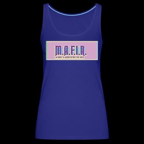 Trippy Mafia Logo - Women's Premium Tank Top