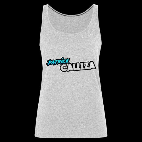Patrick Calliza Official Logo - Women's Premium Tank Top