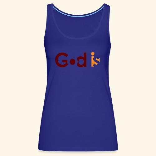 GOD IS #5 - Women's Premium Tank Top
