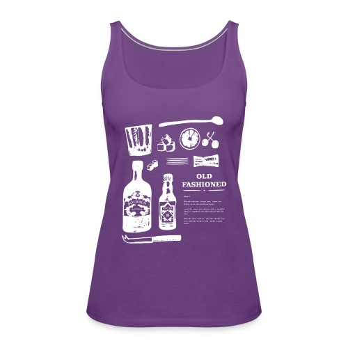 Old Fashioned - Women's Premium Tank Top