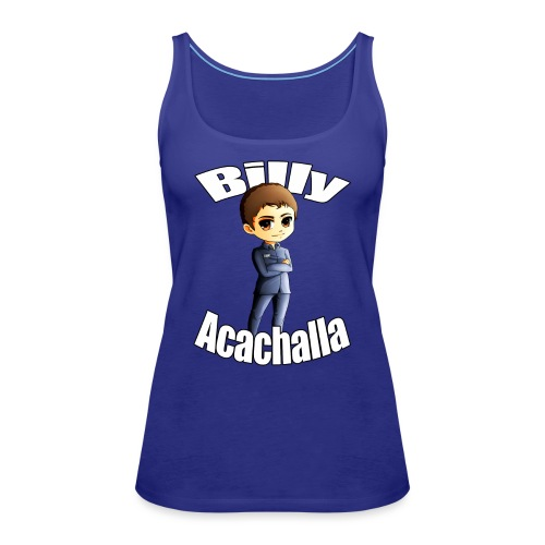 Billy acachalla copy png - Women's Premium Tank Top