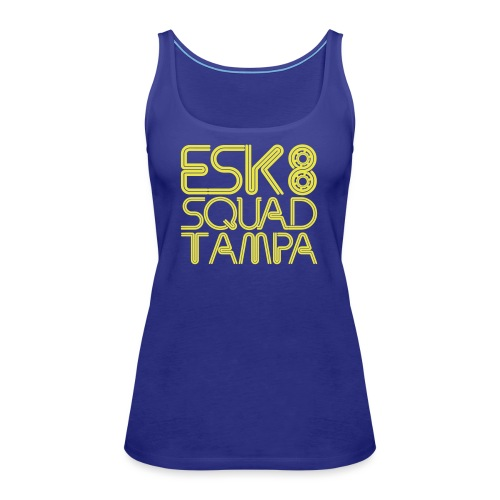 Esk8Squad TampaBay - Women's Premium Tank Top