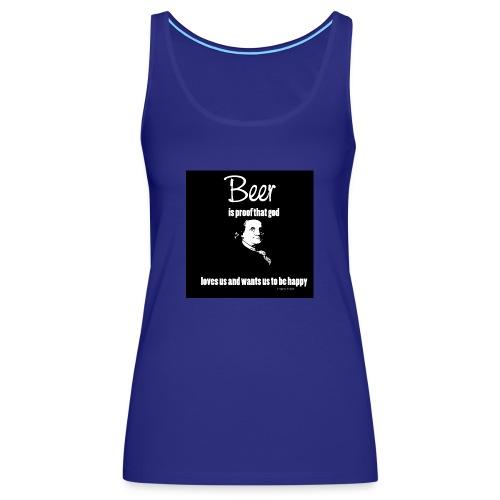 Beer T-shirt - Women's Premium Tank Top