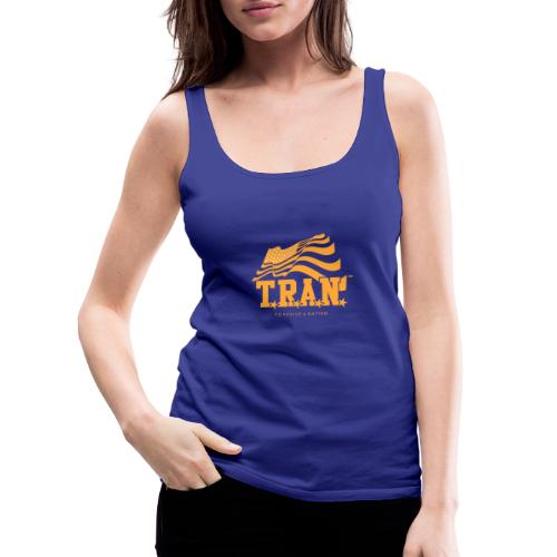 TRAN Gold Club - Women's Premium Tank Top